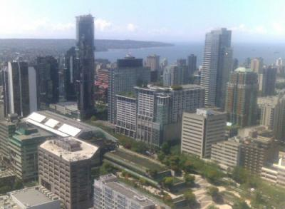 Vancouver Courts skyline
